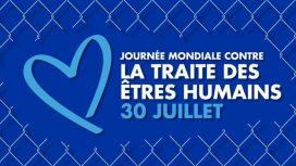 JOURNÉE INTERNATIONALE CONTRE LE TRAFIC HUMAIN